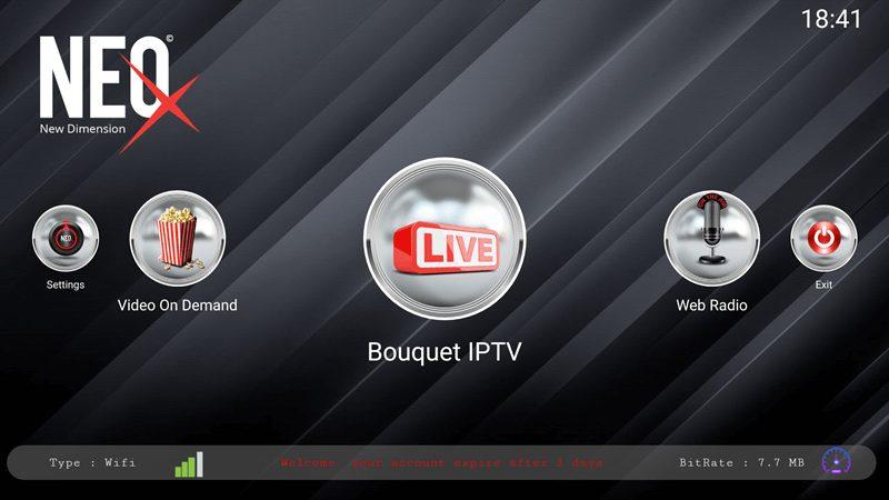 Neo X IPTV