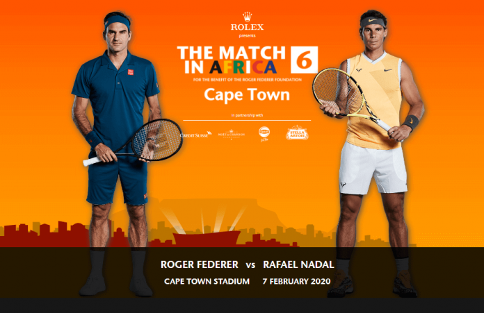 How To Watch Roger Federer VS Rafael Nadal Match In South Africa (tennis exhibition match)