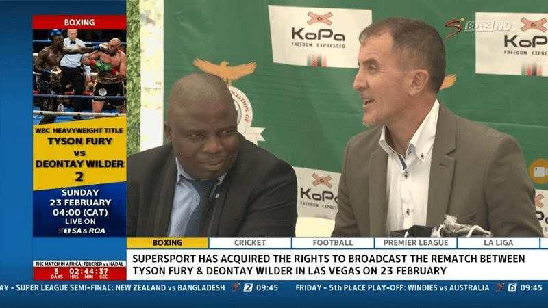 Dstv Acquire TV Right to showing Fury-Wilder Rematch