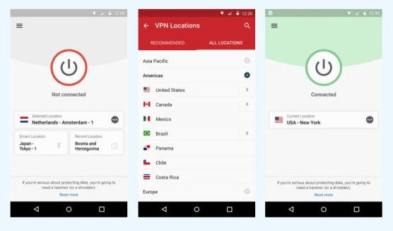 ExpressVPN Review: Android App