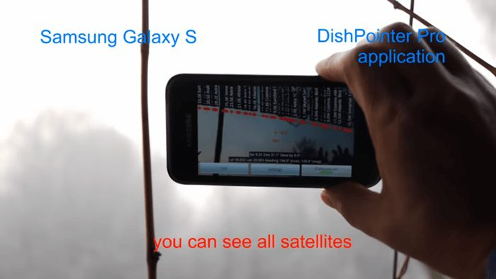 Dish Pointer Pro App