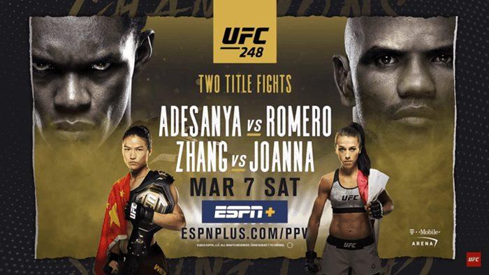 UFC 248: Watch Adesanya VS Romeo Live Stream