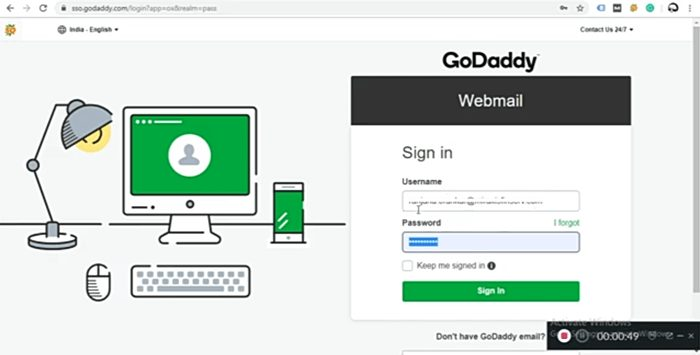 Best And Simple Way To Access GoDaddy Webmail Email (2020)