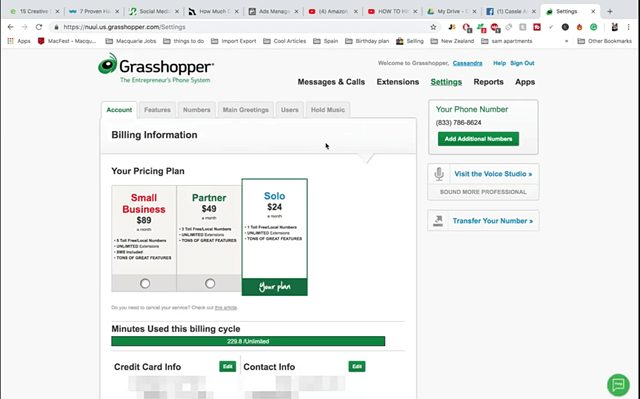 Grasshopper Virtual Phone System