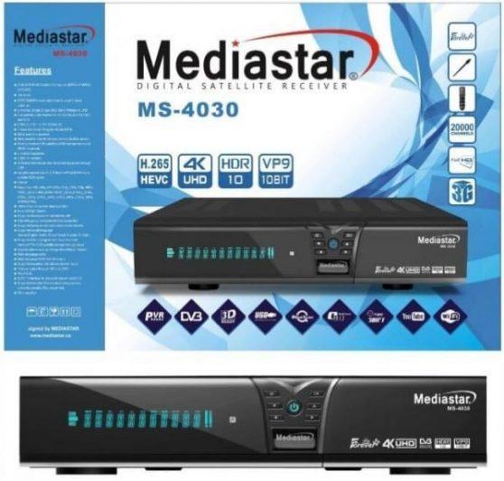 Mediastar MS 4030 4K Receiver