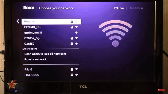 Roku Remote Network Connection
