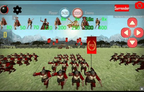 Roman empire game