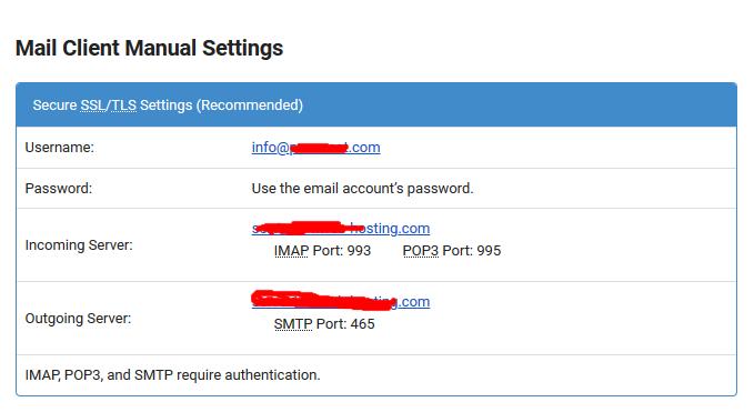 Google Free SMTP Server Configuration
