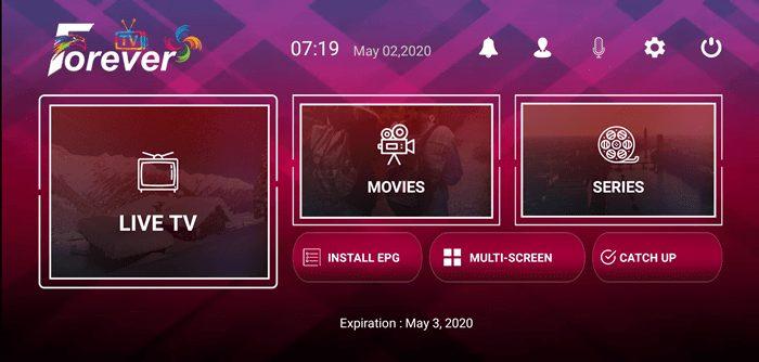 Forever IPTV App Activation Code