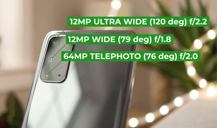 Samsung Galaxy S20 Plus Camera