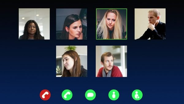 Skype Video Call Conference