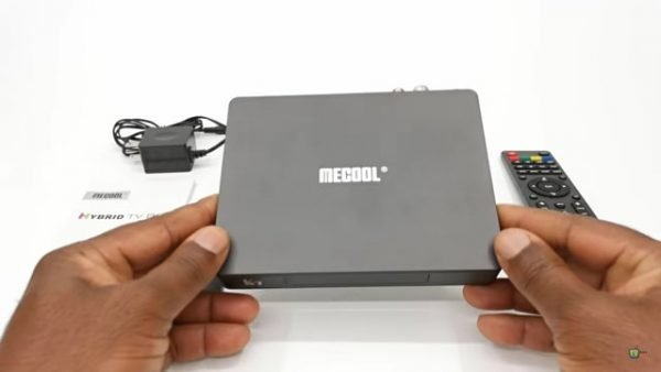 Mecool K7 DVB-S2/T2/C And Android 9.0 4GB RAM TV Box