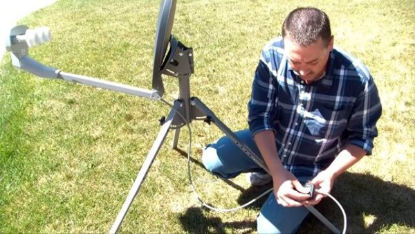 How To Discover Satellite Dish Coordinates With A Zip Code