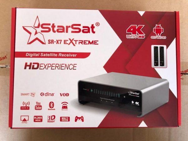 starsat sr-x7 extreme 4K receiver