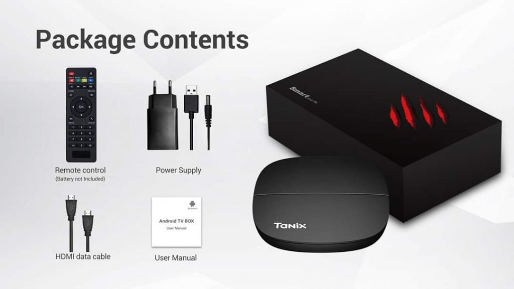 Tanix H1 Smart 4K TV Box with HiSilicon Hi3798M Android 9.0