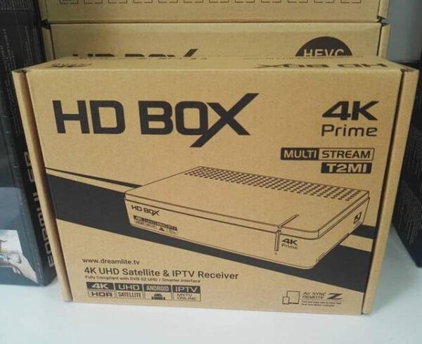 HD BOX 4K Prime Hybrid Receiver
