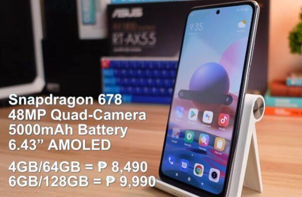 Xiaomi Redmi Note 10 Smartphone